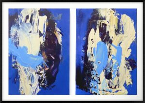 Wedding Photo Diptych - 23x15.5in